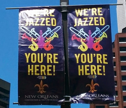 Because people play jazz music in New Orleans
