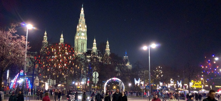 One, or maybe all, of the Christmas markets in Vienna