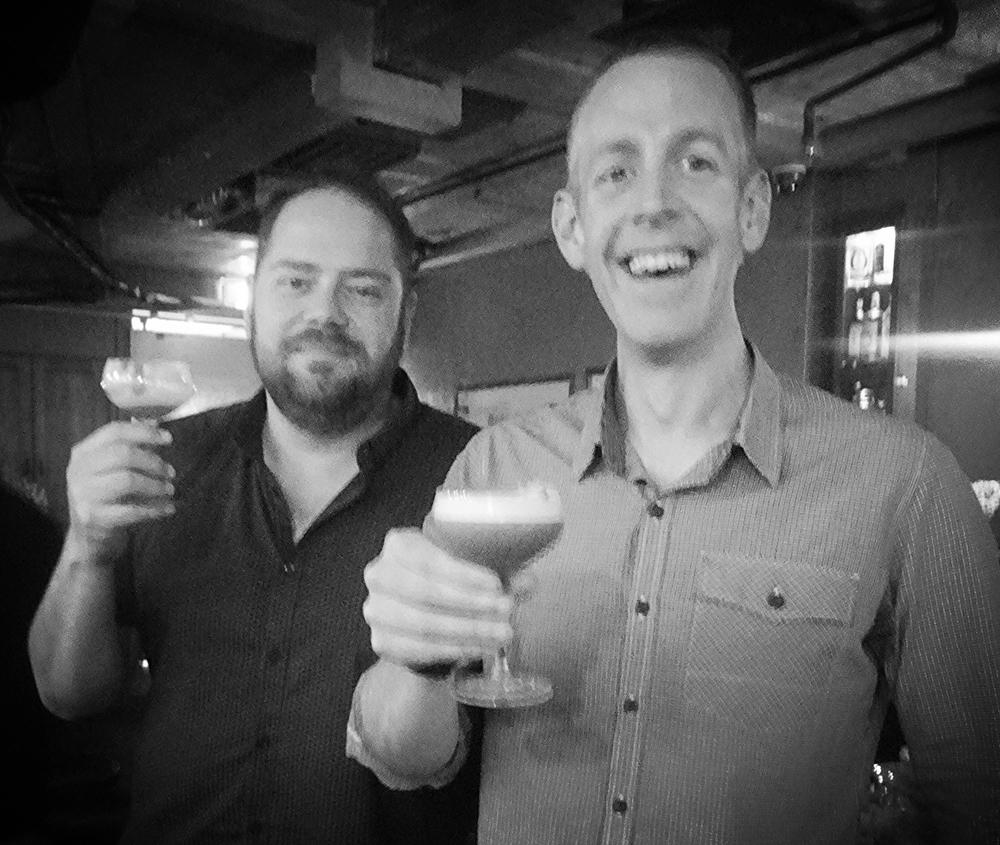 Loch distiller and co-found Craig Johnson (right)