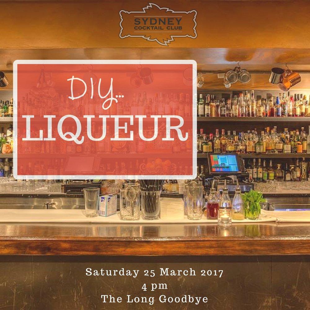 DIY Liqueur
