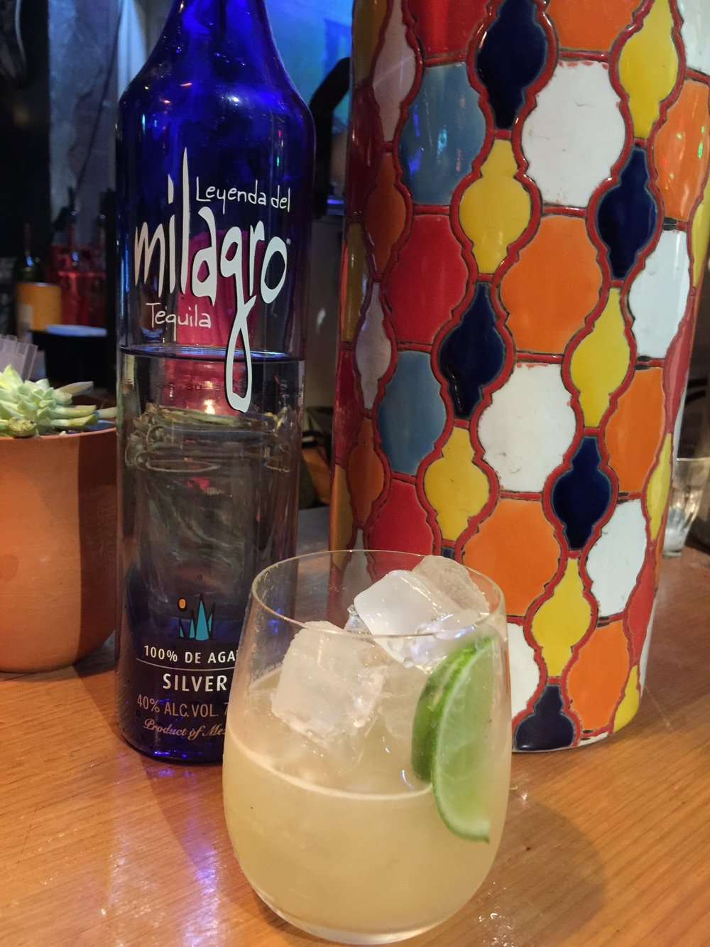 Milagro cocktail