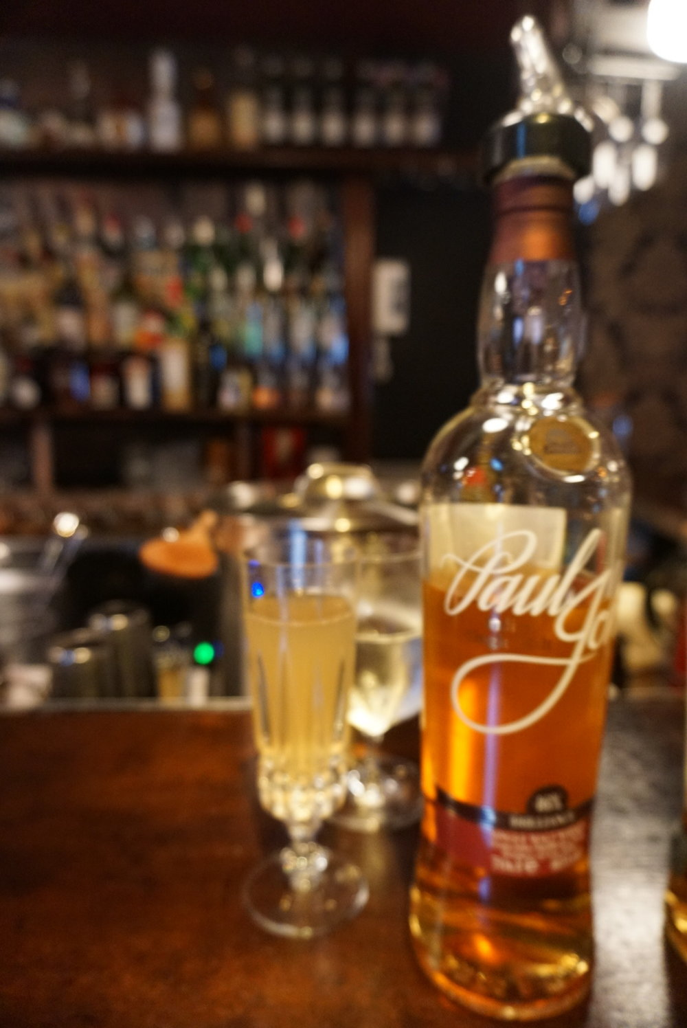 High Tea champagne cocktail