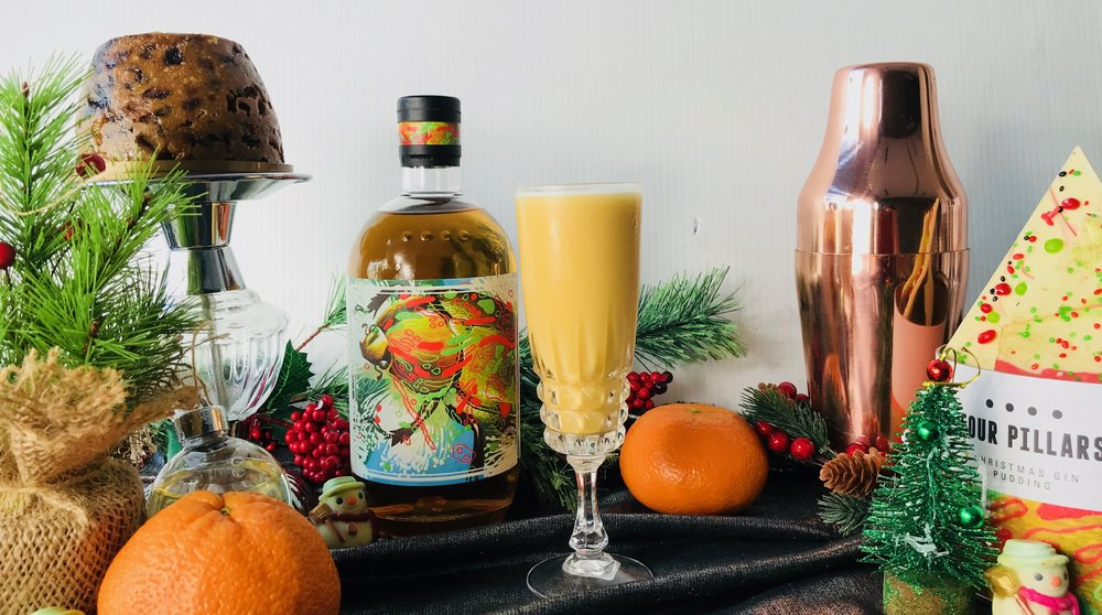Four Pillars Christmas Gin cocktail