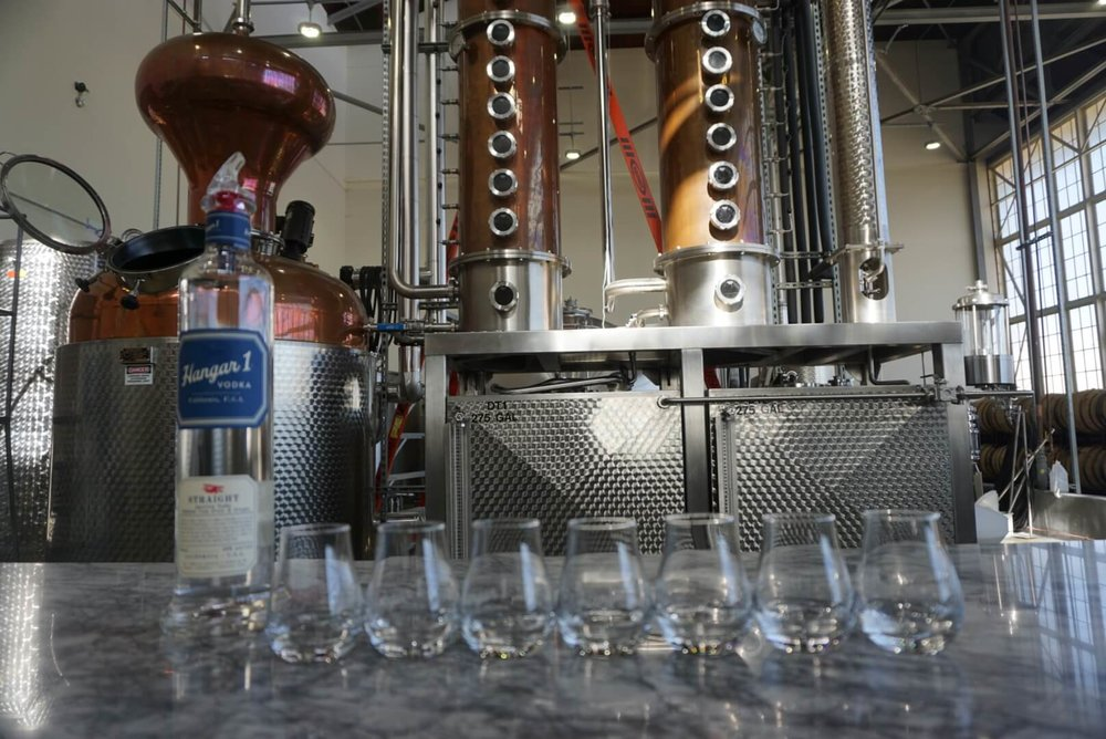Hangar One Vodka Distillery