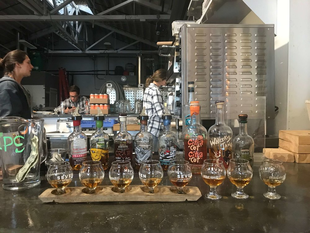 Seven Stills Whiskey Tasting