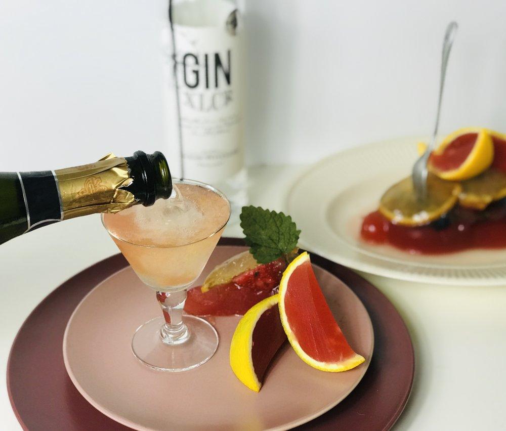 Orange Negroni Cocktail