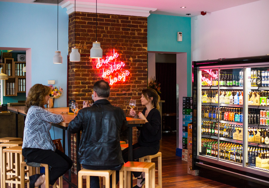Sturt St Cellars in Adelaide with its 100% list of South Australian wines, beer and spirits (Photo: Sturt St Cellars)