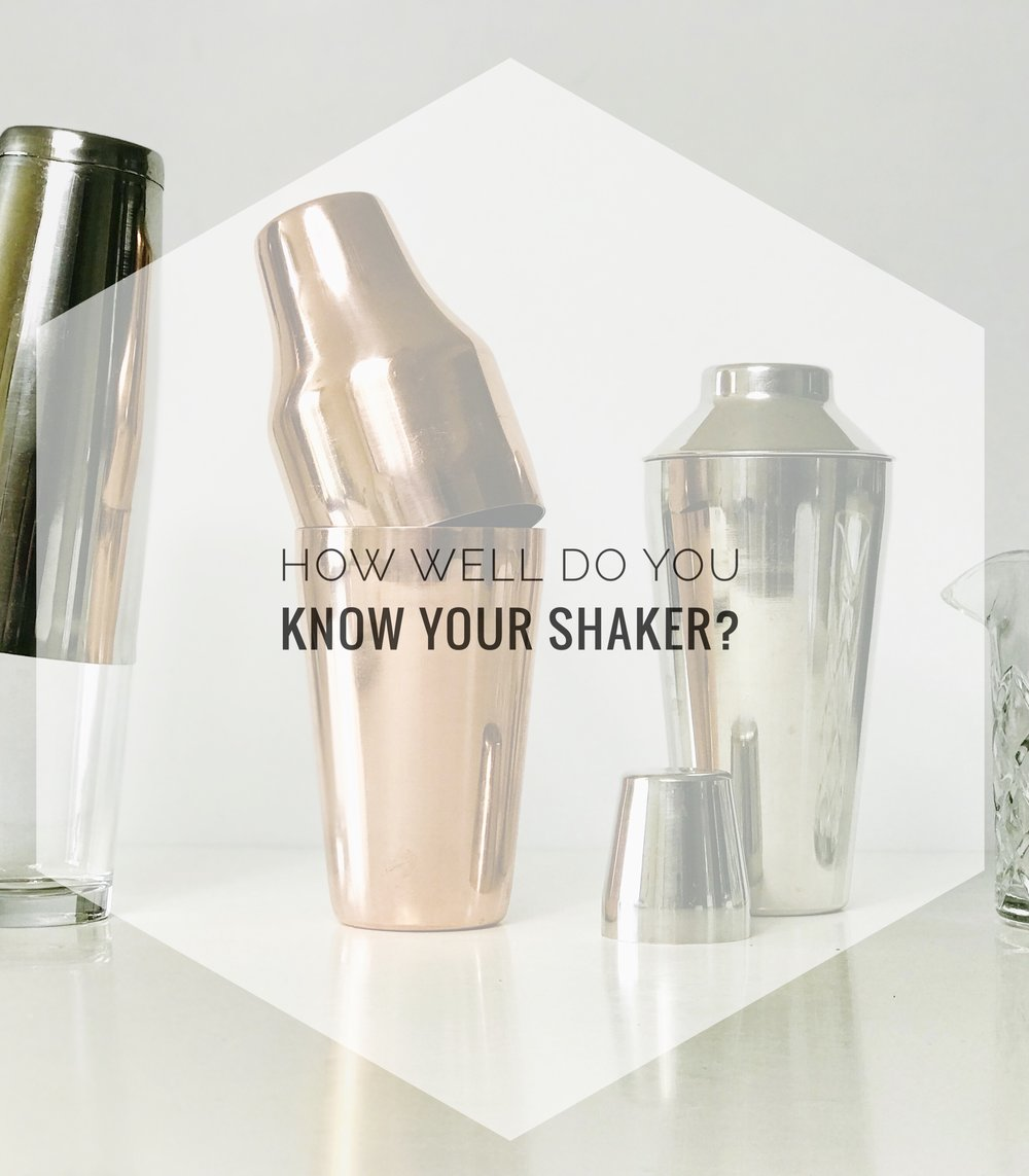 A guide to cocktail shakers