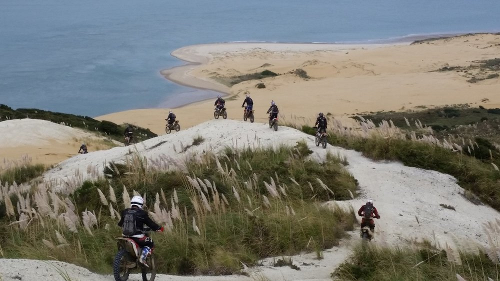 Experience New Zealand from the seat of a motorbike, and you won't want to travel any other way!     Far North Adventure