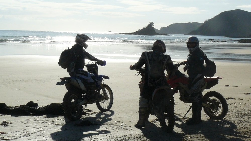 Experience New Zealand from the seat of a motorbike, and you won't want to travel any other way!     East Cape Capers