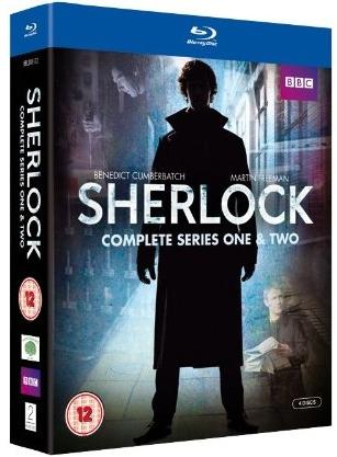【S1-2-UK】SHERLOCK シリーズ1-2 UK(イギリス)版DVD/Blu-Ray
