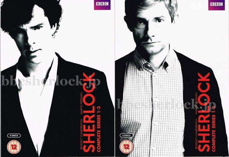 【S1-2-3-UK】SHERLOCK シリーズ1-3 UK(イギリス)版DVD/Blu-Ray