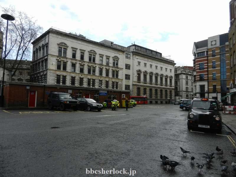 2014年1月:タクシー乗り場