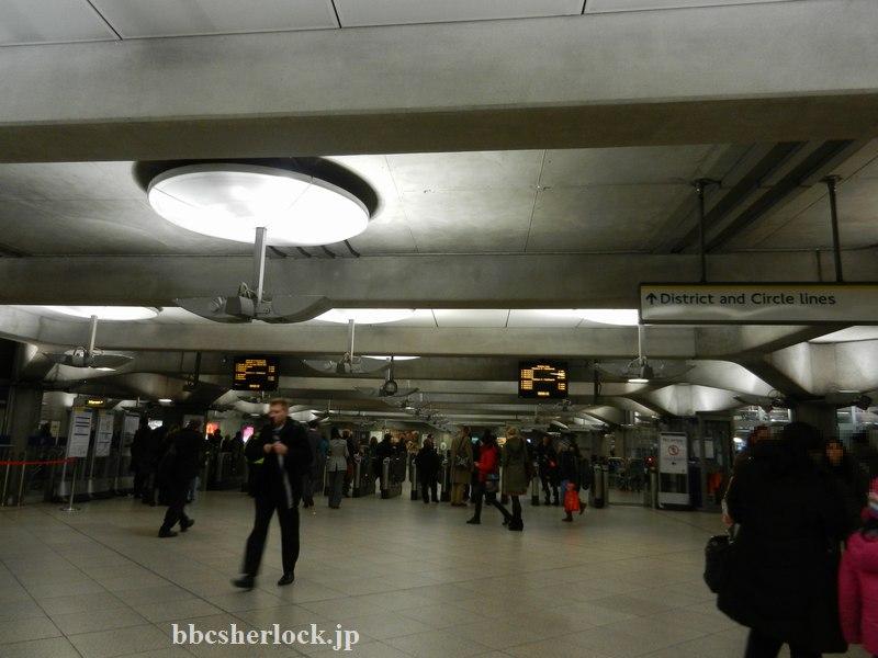 2014年1月:地下鉄ウェストミンスター駅