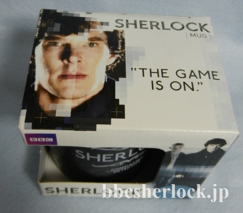 「SHERLOCK/シャーロック」BBCショップ公式マグカップ