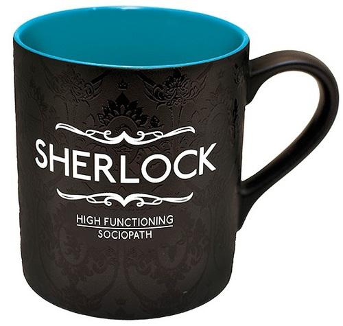 Sherlock: High Functioning Sociopath Mug
