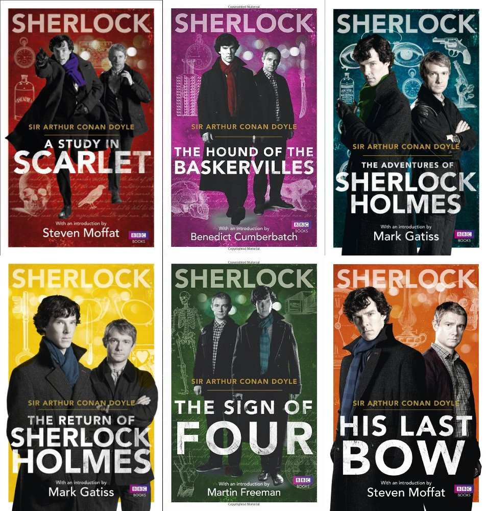 原作Sherlock Holmesペーパーバック(BBC表紙)