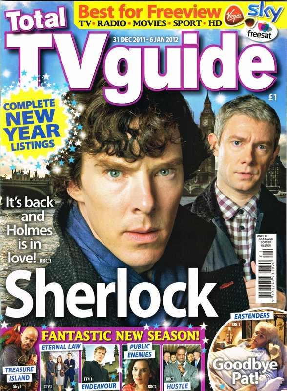Total TV guide 31 Dec 2011 - Sherlock Series2 -