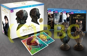 UK版(リージョンA)「SHERLOCK」S1-S3コンプリート・ギフトボックスセット