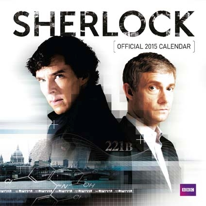 『SHERLOCK/シャーロック』2015年公式カレンダー