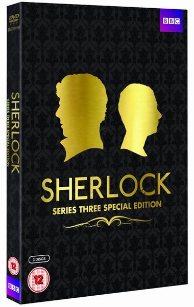 Sherlock: Complete Series 3 SPECIAL(UK)版DVD