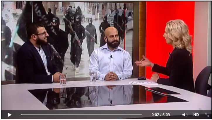 Klik på billedet åbner TV2 News' facebookside uden for denne blog