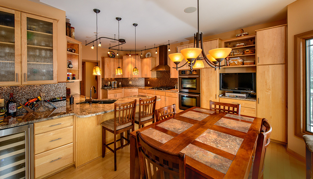 This kitchen is so beautiful! So well thought out.