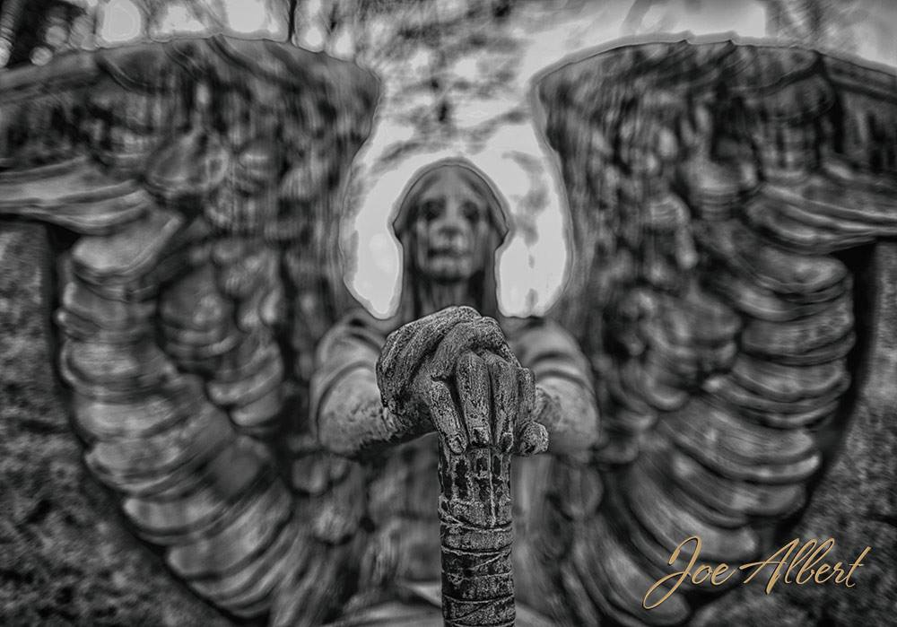 It was if the statues had a soul. I had a very different feeling at this cemetery. It was truly different