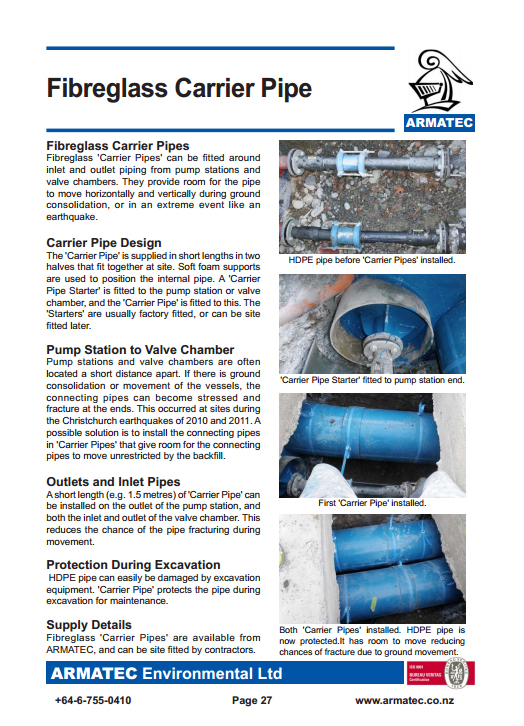 Download the Carrier Pipes Handbook
