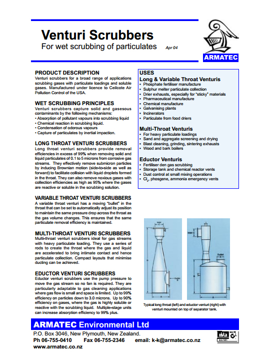 Download Venturi Scrubbers Handbook