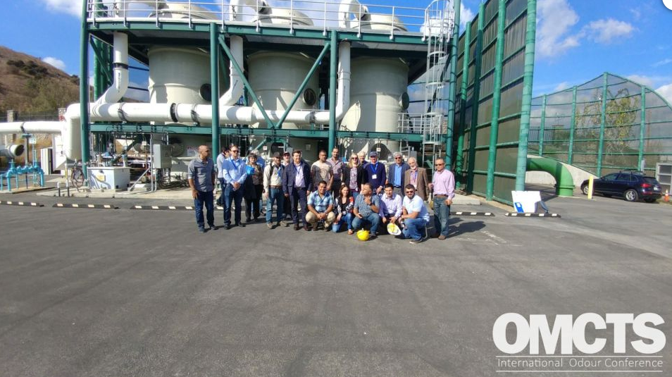 Site Visit to Odour Treatment facility in LA, USA