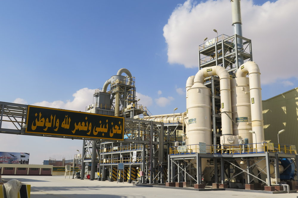 NZ made air pollution control scrubbers in Egypt signalled new possibilities in providing engineering expertise to the world.