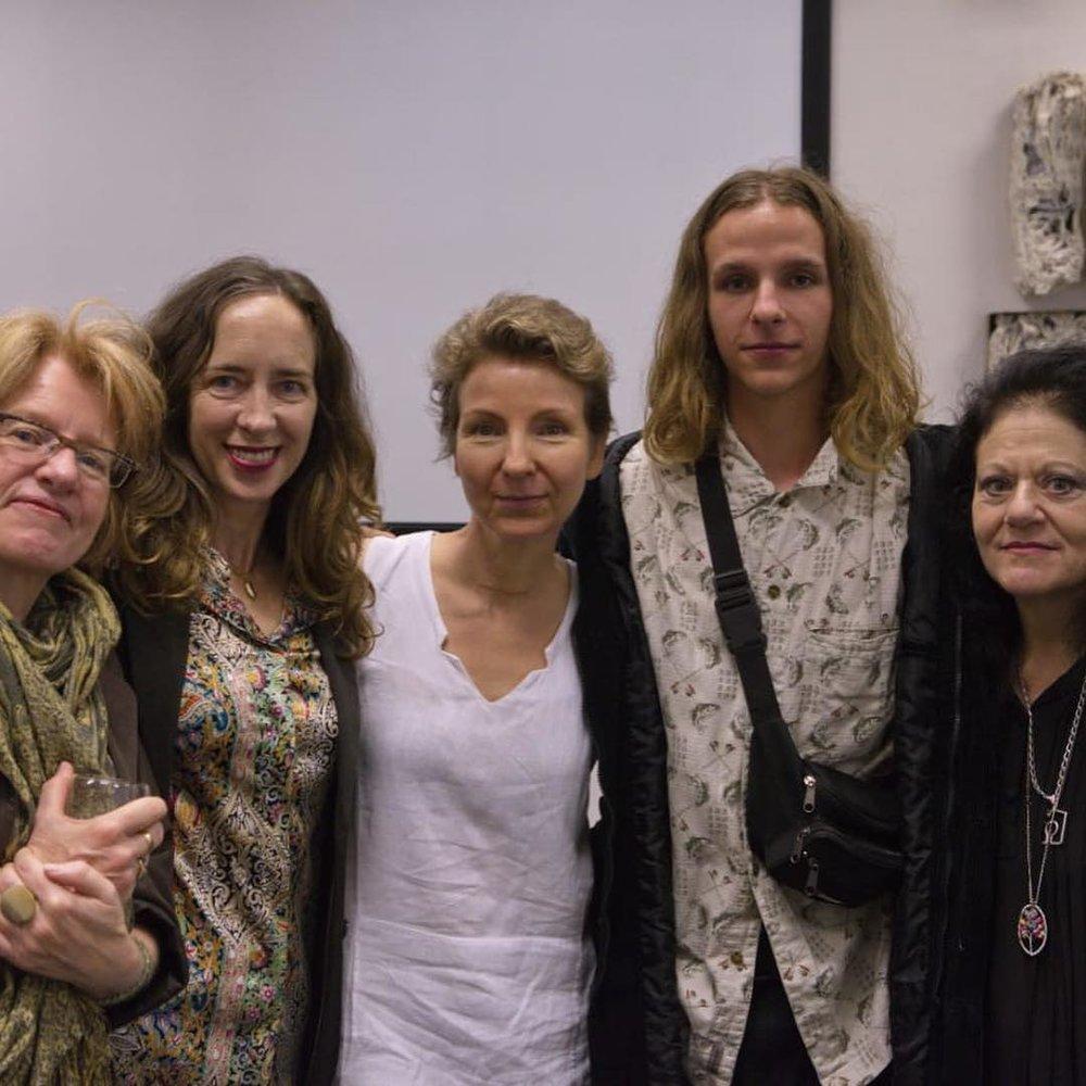 Lynette Siebert, Nina Holmes, Natasja de Wet, TJ de Wet and Inge Dawn Buurman