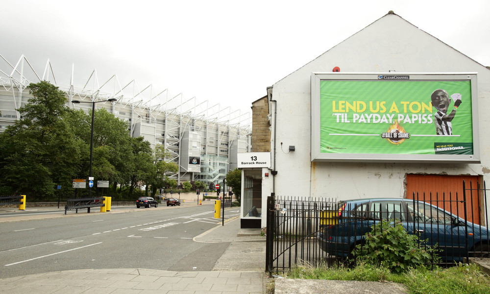 Paddy Power -  Cisse billboard, landscape - #ballofshame.JPG