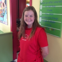 Miss Katie is a student at Ball State University and has worked at the daycare for over 6 years.