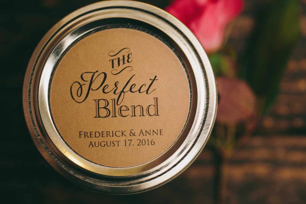 Coffee Wedding Favor Idea from Backyard Beans Coffee Co. -