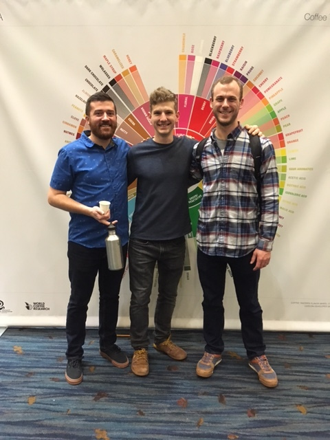Bobby, Josh and Matt at the 2017 US Coffee Championships in Knoxville, TN.
