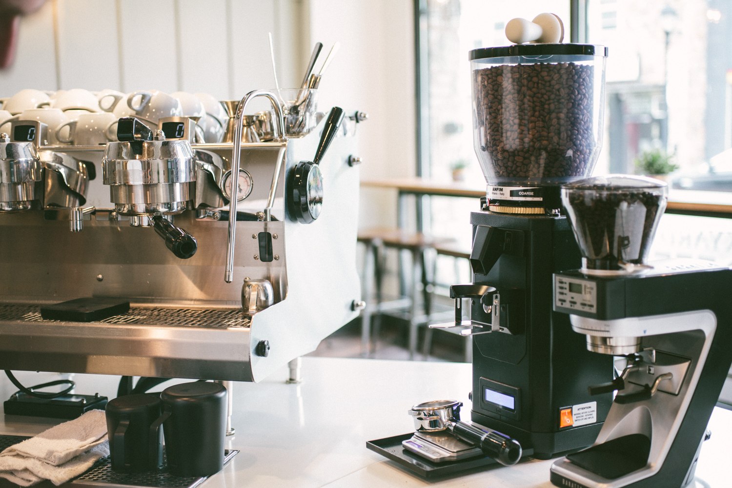 backyard beans coffee co take a tour of our new store