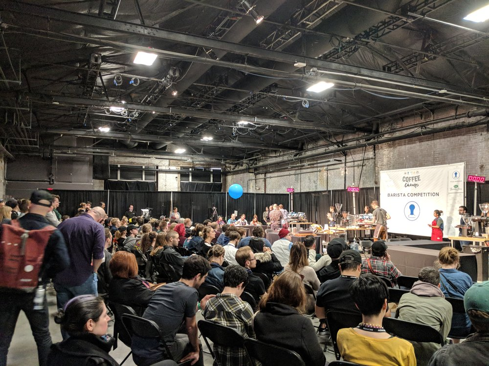 Coffee Champs Brewers Cup 2018