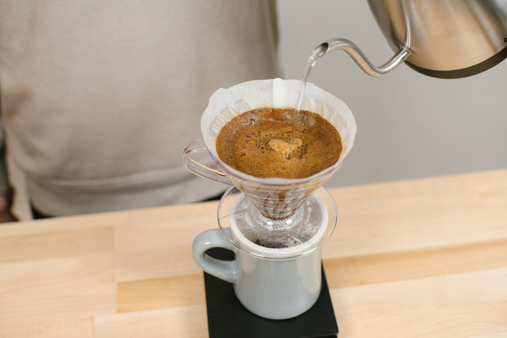 Pour Over Brew Guide