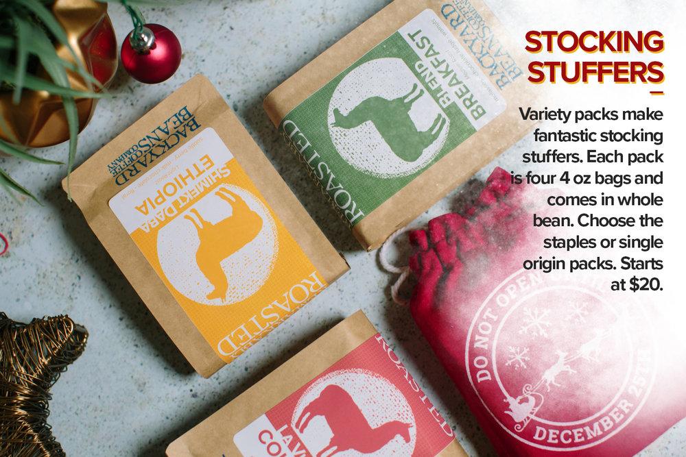Stocking Stuffers Coffee