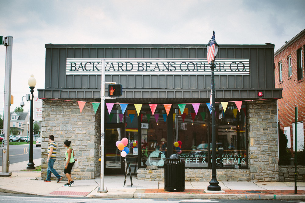 Backyard Beans Coffee Shop Lansdale PA