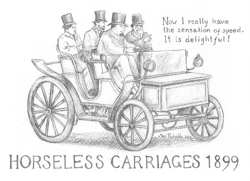 Mari Puhakka | Horseless Carriage