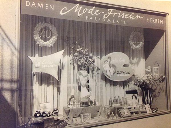 Das Geschäft Kappengasse nach Umbau 1959