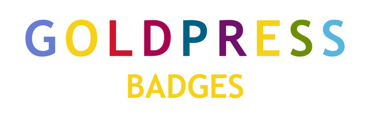 GOLDPRESS BADGES