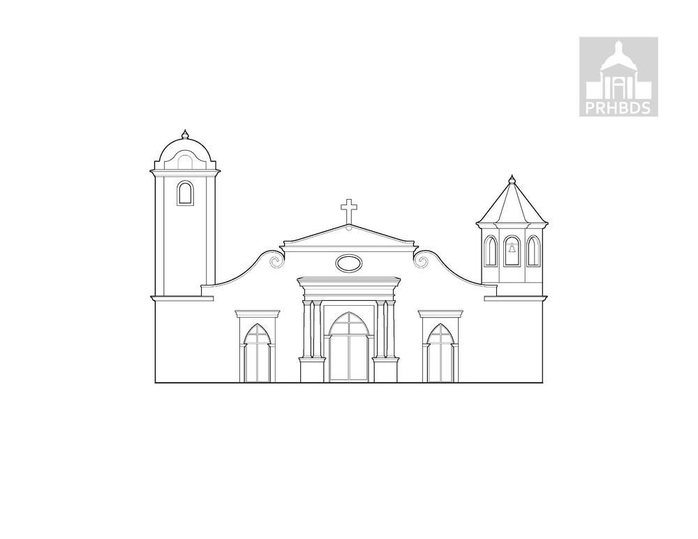 Parroquia San Carlos Borromeo   Aguadilla, Puerto Rico    Fecha de construcción (1783) diseño actual (1921)