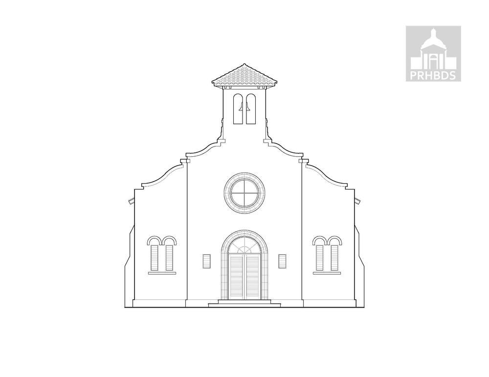 Parroquia San Antonio de Padua (1932)   Ceiba, Puerto Rico.    Diseñada por Luis Perocier