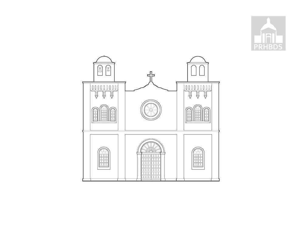 Parroquia Nuestra Señora del Carmen   Cidra Puerto Rico    Diseñada por Pedro Cobreros (1895)   Fachada actual (1952)
