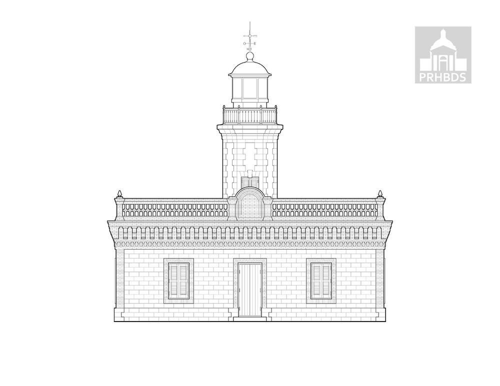 Faro de Gúanica - Gúanica Lighthouse   Gúanica, Puerto Rico    Designed by José María Sainz (1893)