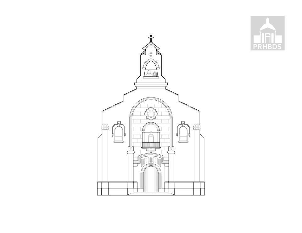 Parroquia Inmaculado Corazón de María (1930)   Patillas, Puerto Rico    Diseñado por: Francisco Luis Porrata Doria